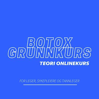 Nettstudier - Botox Grunnkurs Teori