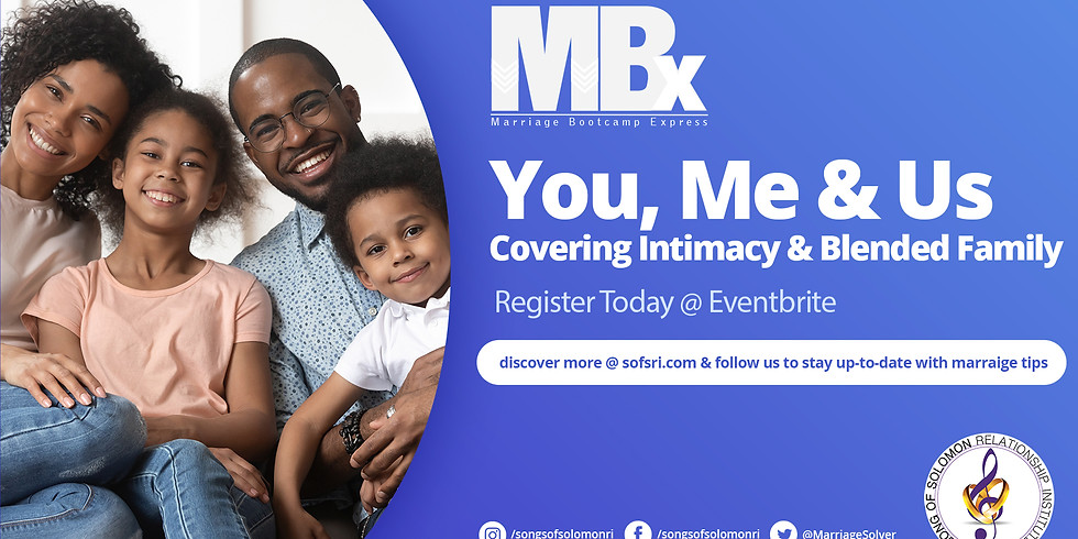 MBX Tune-up Weekend: YOU, ME & US