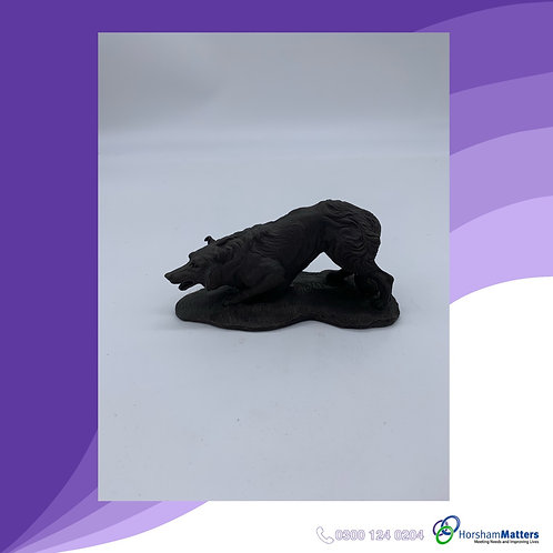 Small Wolf statue