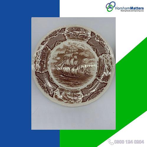 Fair Winds New York Harbor 1830 plates (set of 2)