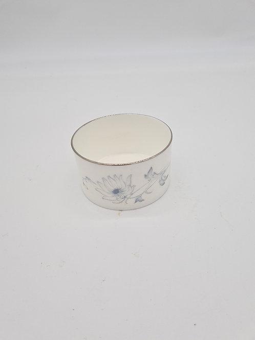 White Wedgwood Susie Cooper sugar bowl