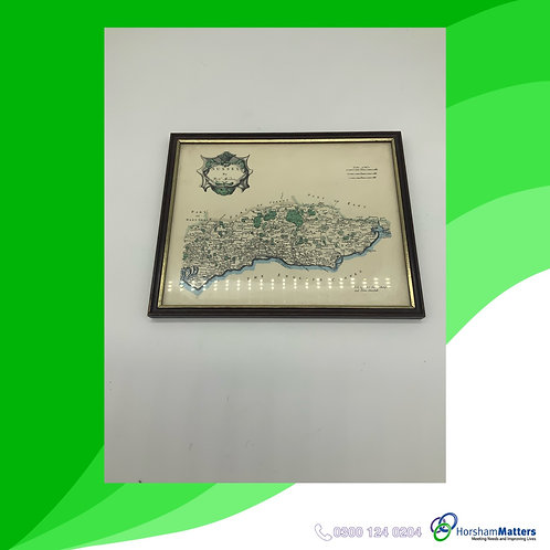 English Channel framed print by Rob Morden
