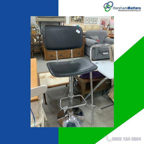 Black kitchen bar stool