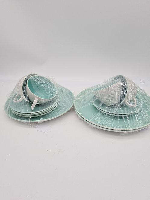 Poole pottery set