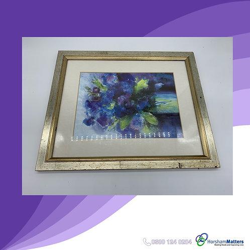 Ute Mertens flower framed