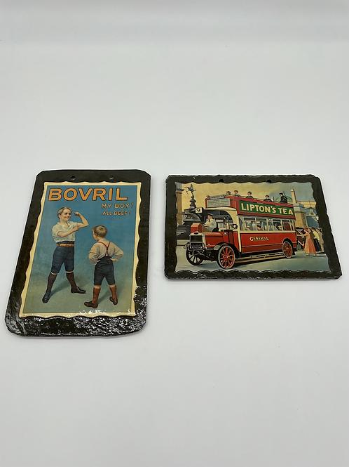 Vintage Slate Prints