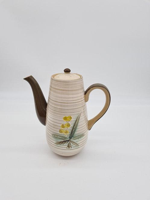 Stoneware coffee pot