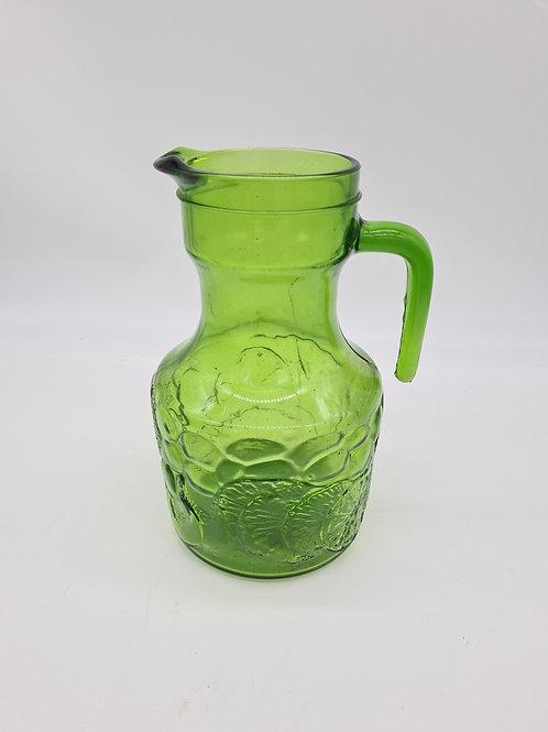 70s Italian glass jug