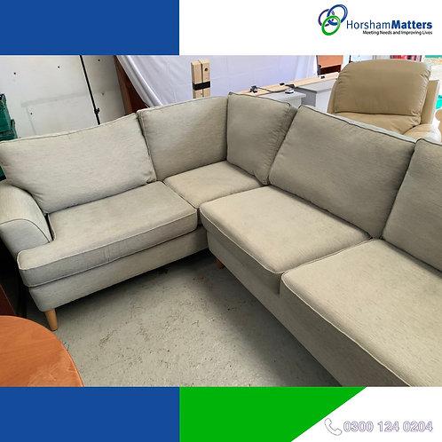 Immaculate condition Grey corner sofa *LIKE NEW*