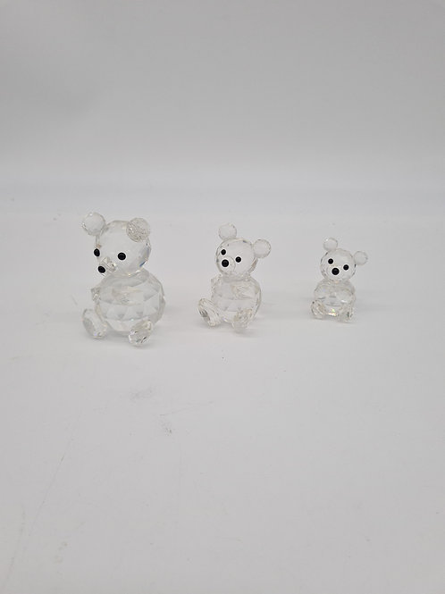 Swarvoski bear family