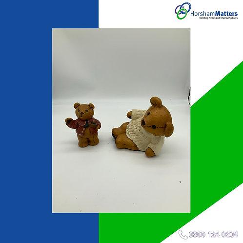 Monchique Crafts Bear Set small statues set