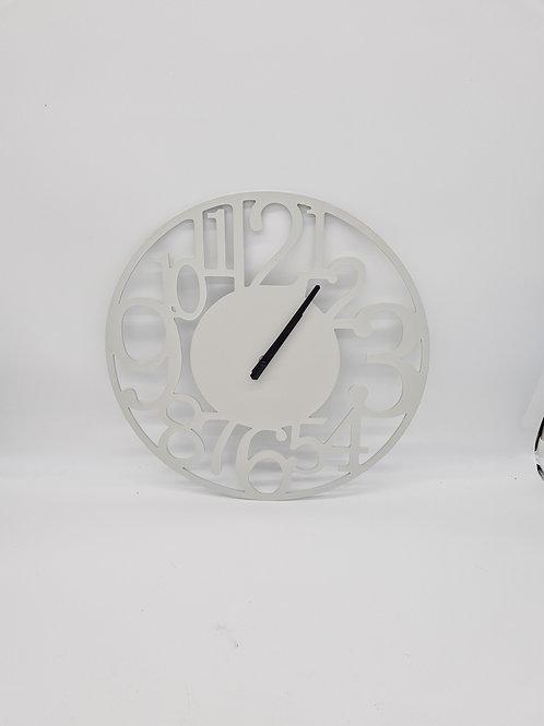 Wall clock, working