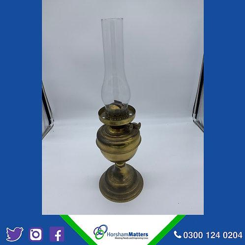 Duplex Hinks oil table lamp