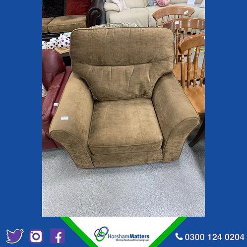 Single seat Brown sofa Chair