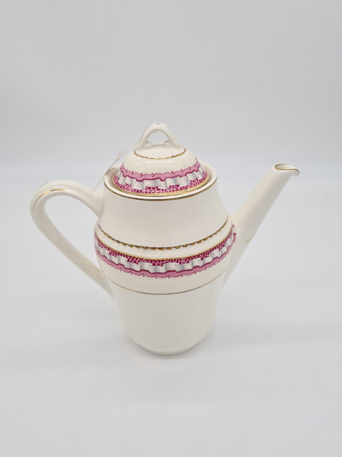 Portland pottery coffee pot