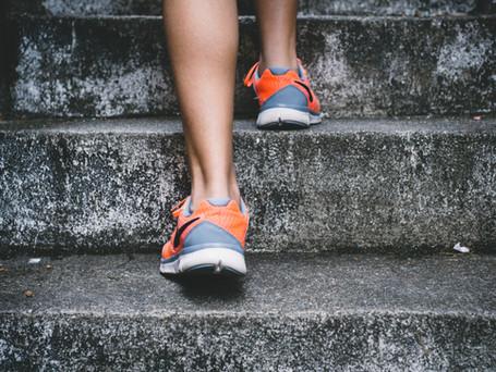Você usa a escada no seu dia a dia?