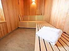 Sauna zum Entspannen