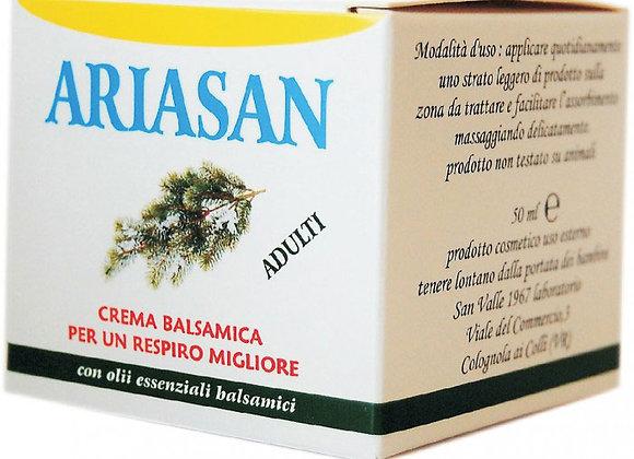 Ariasan, pomata balsamica per le vie respiratorie