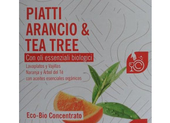Piatti e Stoviglie Arancio e Tea Tree