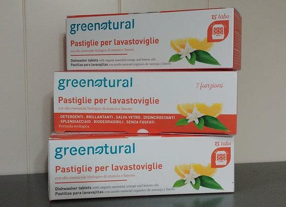 Green Tabs Lavastoviglie