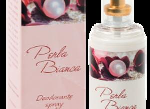 Deodorante spray elegante Perla Bianca