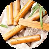 bambù massaggio