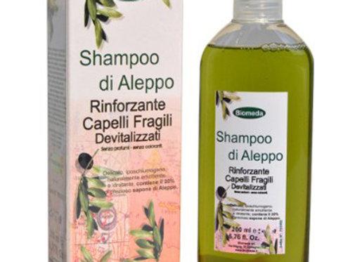 Shampoo di Aleppo, rinforzante per capelli fragili devitalizzati