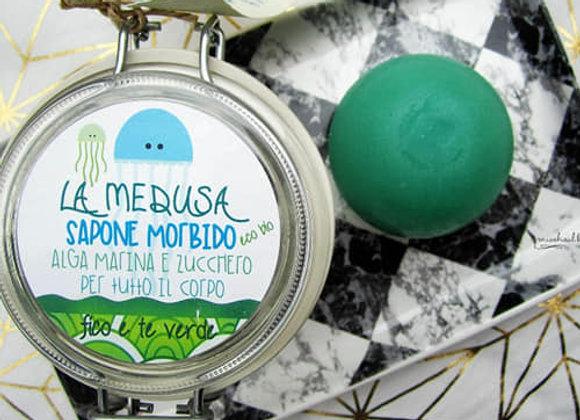 La Medusa, sapone morbido a base di alghe e zucchero