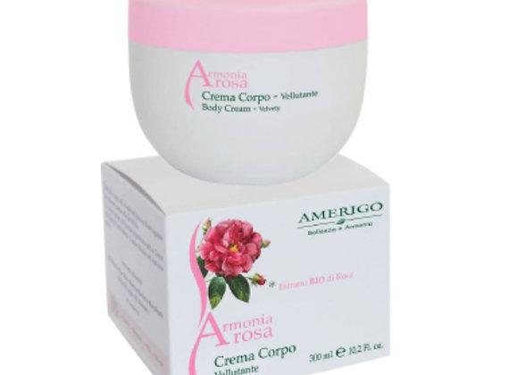 Crema corpo vellutante Armonia Rosa