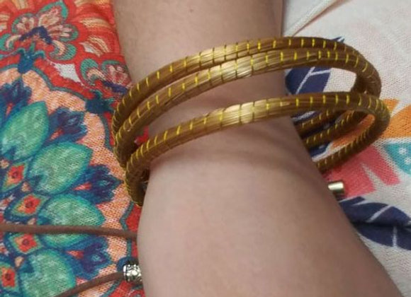Gioielli in Oro vegetale: braccialetti semplici