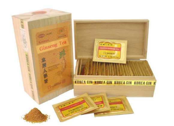 Ginseng Rosso Coreano. 30 bustine