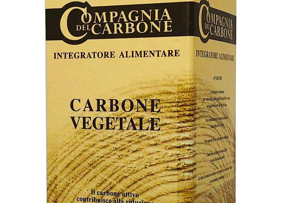Carbone vegetale in compresse