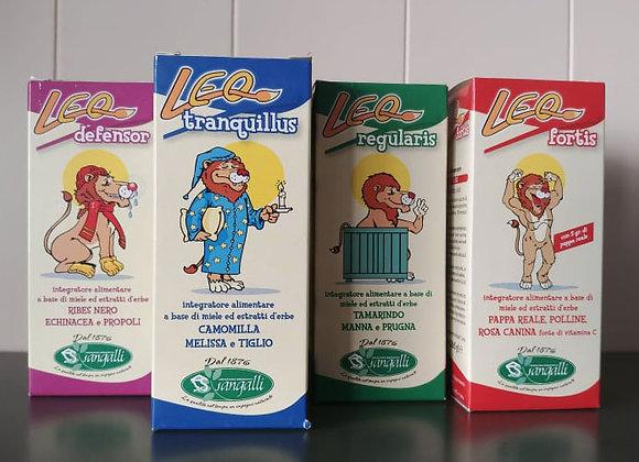 Linea Leo, integratori per bambini e ragazzi