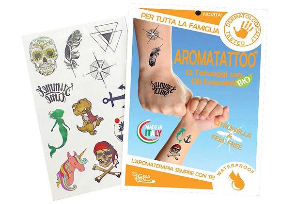 AromaTattoo, tatuaggi anti zanzare