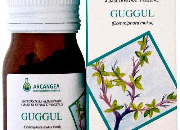 Guggul, capsule. Controllo di colesterolo e del metabolismo dei grassi