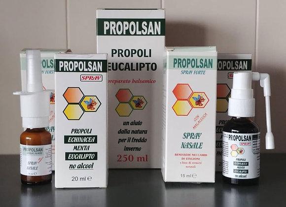 Propolsan, un aiuto dalla natura per il freddo inverno