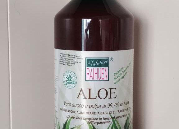Aloe Vera puro succo con polpa