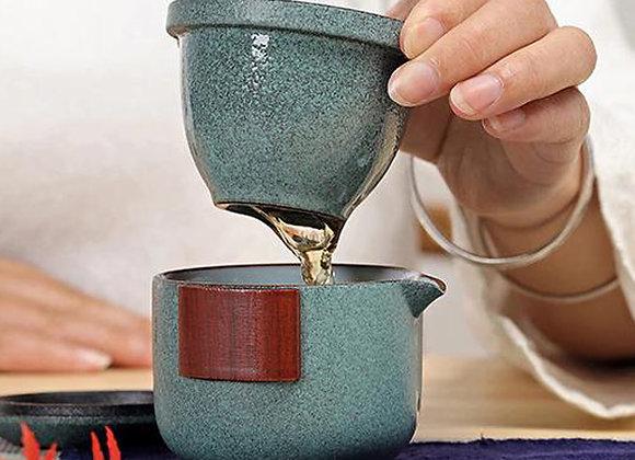 Set da tè da viaggio