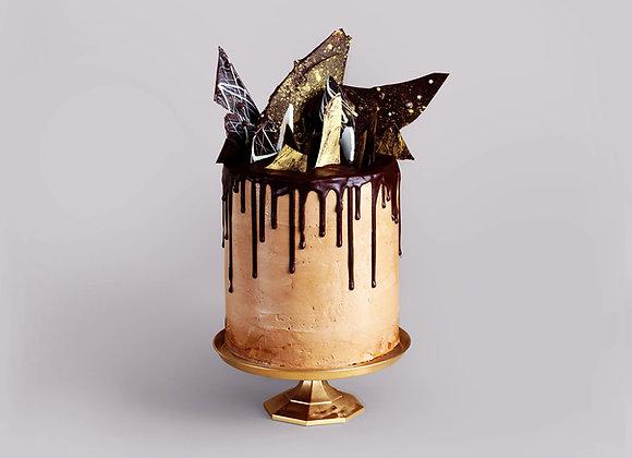 Chocolate Bark Cake