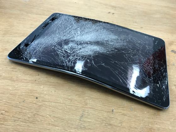 iPad Mini 3 Severely Bent