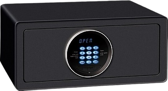 digital hotel safe