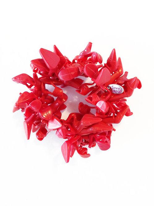 Red Lipstick Bracelet
