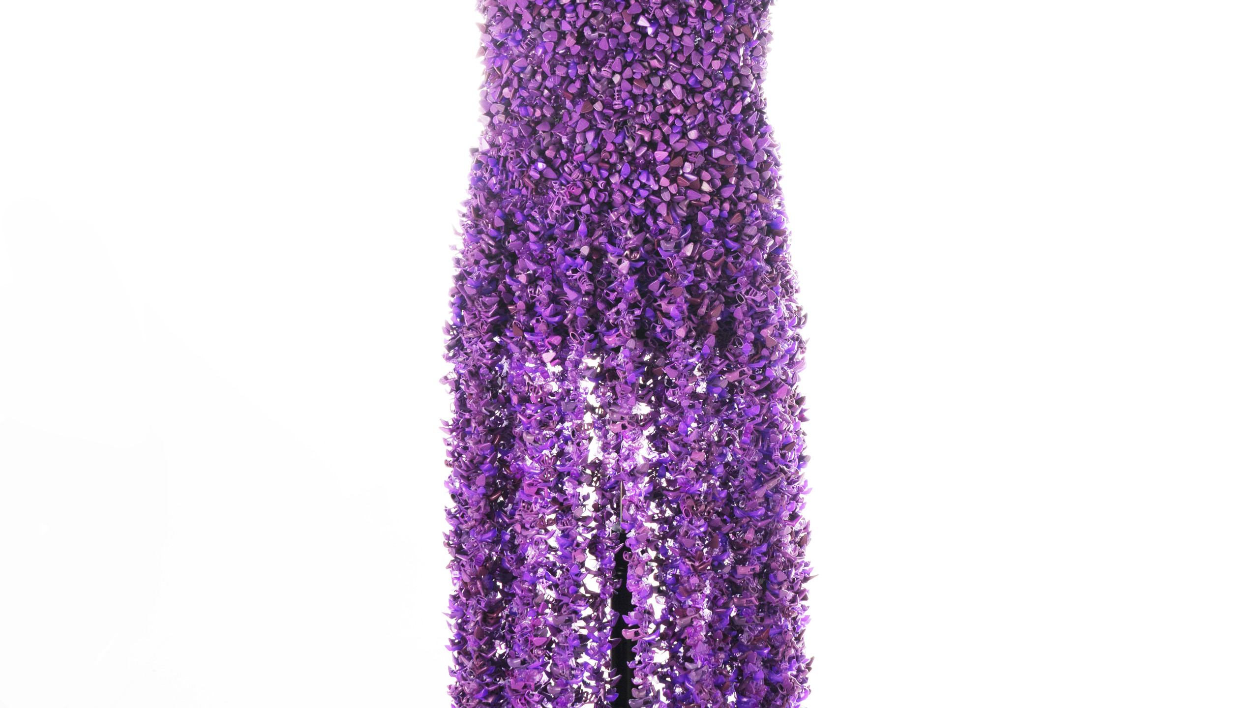 Purple POP Couture Barbie Shoe Gown