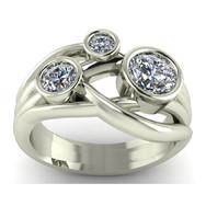 Bezel Fashion Ring