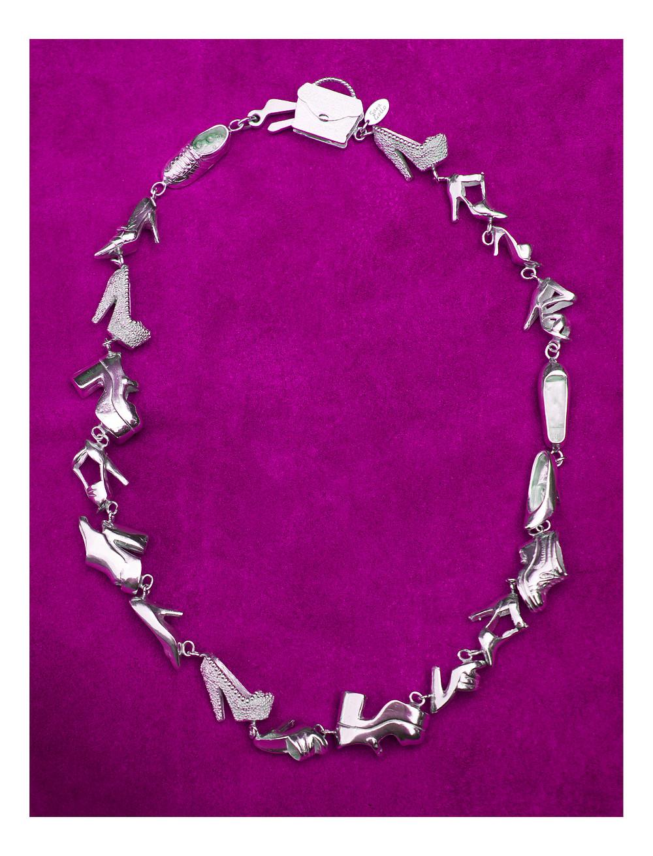 Sara Gallo Jewelry Barbie's Closet OOAK Necklace #4