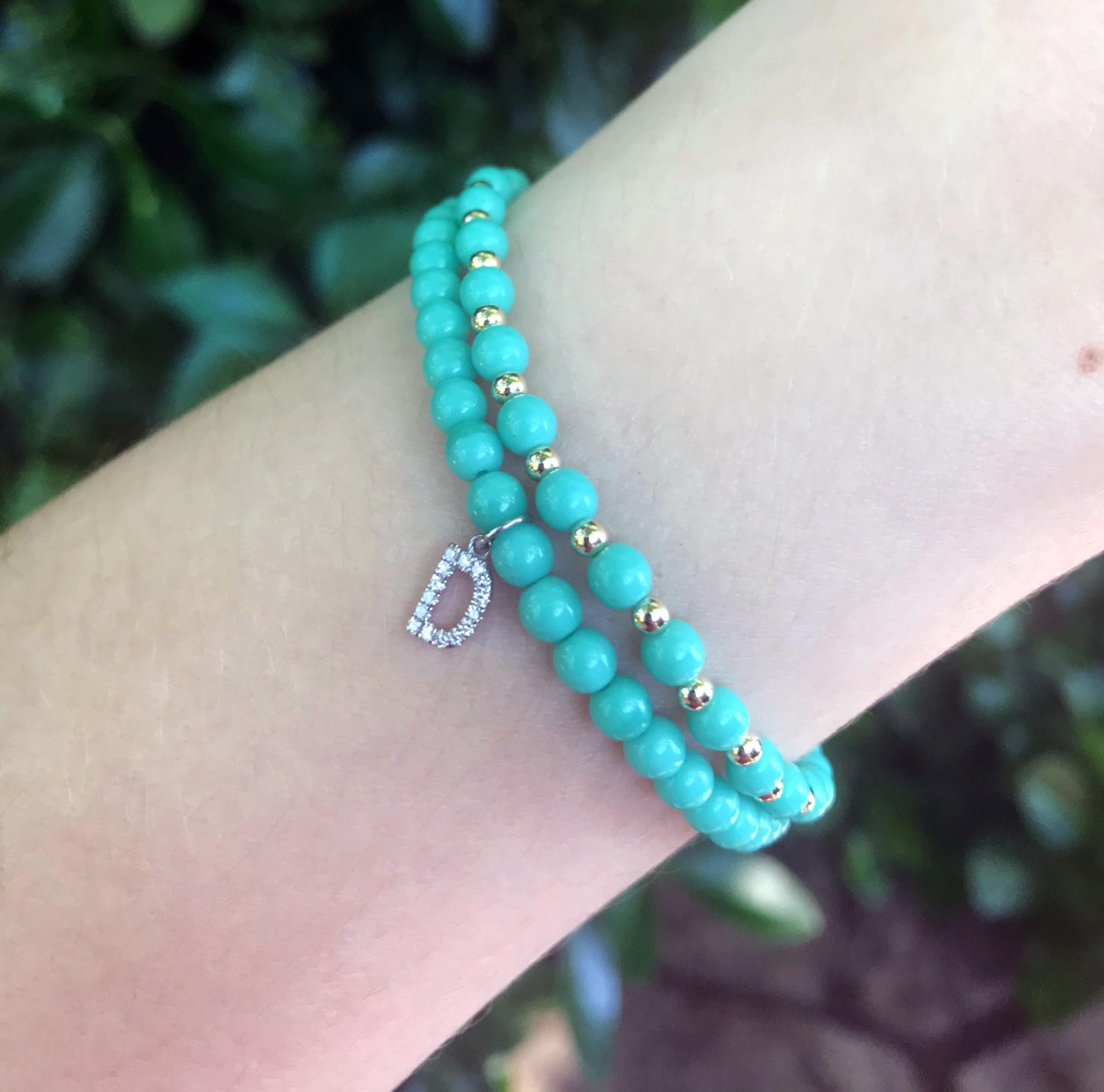Love Letter Bracelets by Sara Gallo Jewelry