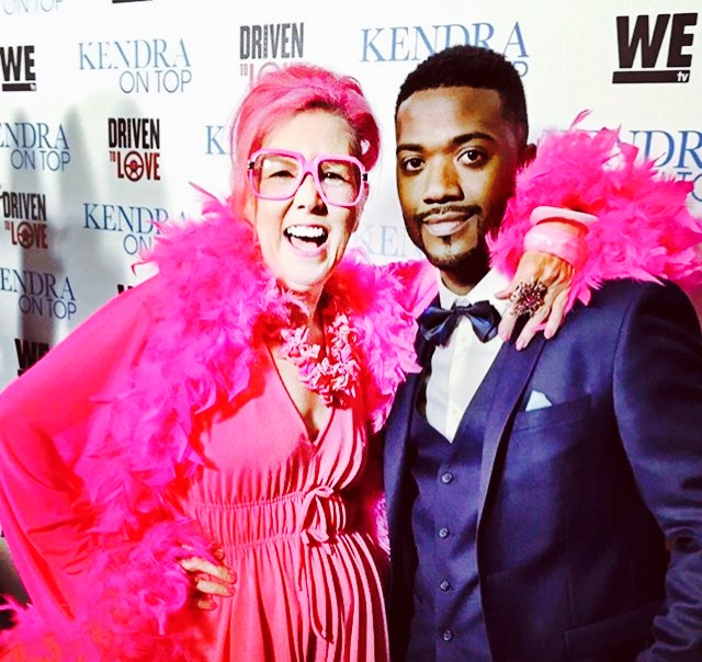 Kitten Kay Sera pictured with Ray J_