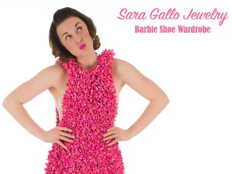 Introducing the Barbie Shoe Wardrobe by Sara Gallo Jewelry