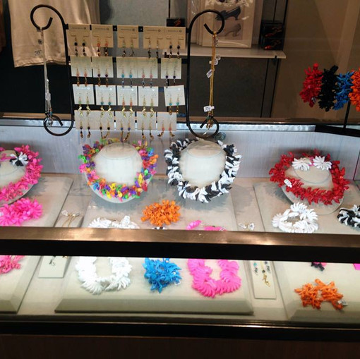 Sara Gallo Jewelry in the Brooklyn Museum gift shop for the KILLER HEELS Exhibit!