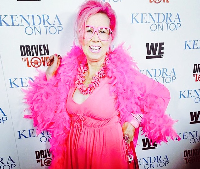 The Pink Lady looks fab on the red carpet_